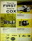 1968 Cox Gas-Line Military Model Toy Airplane Kits Ad