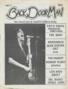 Back Door Man issue 06 - April 1976 [USA] - Magazine