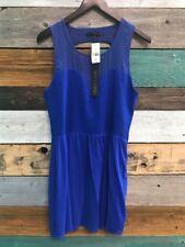 *NEW* Kiwi Tucker Royal Blue Dress Size M Medium