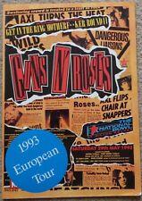 Guns N' Roses 1993 European Tour unofficial tour programme