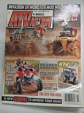 ATV Action Magazine Suzuki's Fastest 4x4 Honda's 2012 500 July 2011 032617nonR