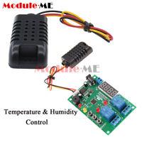 AM2301 Digital LED Display 5-24V Temperature&Humidity Control Board with Sensor