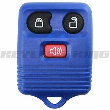 New Blue Replacement Keyless Entry Remote Car Truck Key Fob Clicker Control