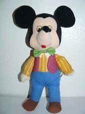 "Disney's Mickey Knickerbocker Plush 13"""