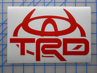 "Toyota TRD Horns Emblem Sticker Decal 4"" 5.5"" 7.5"" Off Road Tundra Tacoma FJ"