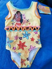 Disney New with Tags Girls Authentic Princess Moana & Pua Swimsuit Girls Size 3