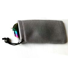 Stylish Glasses Case Soft Waterproof Plaid Cloth Sunglasses Bag Pouch Accessory