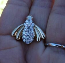 1ct 14k Yellow Gold Diamond Pendant