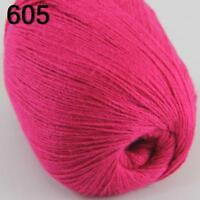 NEW Luxurious Soft 50g Mongolian Pure 100% Cashmere Hand Knitting Wool Yarn 605