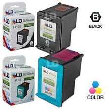 LD Remanufactured Replacements for HP 92 & 93 Ink Cartridges: 1 Black & 1 Color