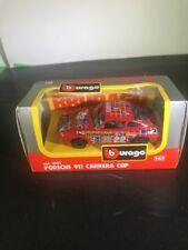 1:43 BURAGO BBURAGO #4161 Porsche 911 Carrera Cup Racing Boxed