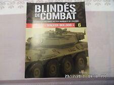 MAGAZINE BLINDES DE COMBAT N°6 M41 A3 WALKER BULLDOG