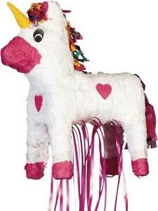 Unicorn Pinata Toy Party Game Supplies Birthday Anniversary Decoration Kids