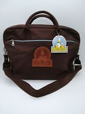 Vintage Universal Studios Sitting Ducks Laptop Bag Sachel Brown BNWT