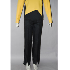 CLEARANCE!!! SALE!!! Star Trek Cosplay Costume TNG Uniform Pants Only !!!