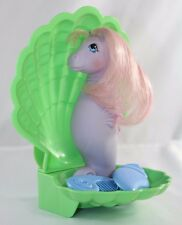 Vintage My Little Pony Sea Pony Year Two G1 1984 Sealight Brush Comb Shell