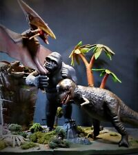 KING KONG ISLAND DINO Pro AIRBRUSHED AURORA style monster Polar Lights Revell