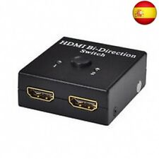 Mini Switch HDMI v1.4 bidireccional 1x2 y 2x1
