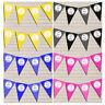 Personalised Bunting Party Banner Garland Decoration Birthday Hen Do Baby Shower