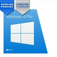 *** Microsoft Windows 10 Professional 32/64 Bit ESD deutsch Vollversion ***