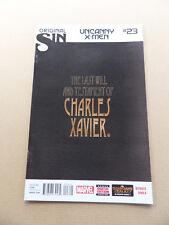 Uncanny X-Men 23 . (3rd series) Marvel 2014 . FN +