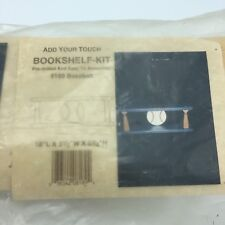 Wood Baseball Bookshelf Kit Kids Project Hardware Add Your Touch 8189 USA