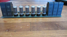 B-5853ST JRC 6Pcs Very Rare NIXIE TUBE Tested in perrfect condition + drivers