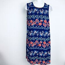 Luxology Blue Floral Women Dress. Size 16. New With Tags