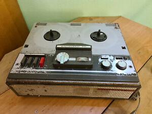 Sammlerstück: Tonbandgerät Telefunken Magnetophon 201 Bauzeit 1966-70 Rarität