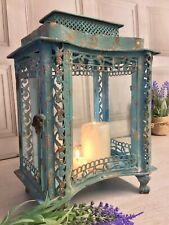 Shabby Chic Antique French Vintage Style Large Lantern Candle Holder Home Garden