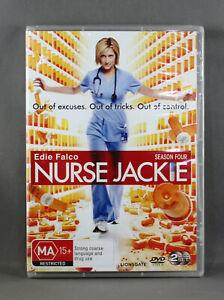 Nurse Jackie Season 4 - DVD - Brand New Sealed