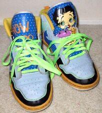 Cool Womens Size 10 Betty Boop Milkshake NYC Fetti Betty Shake Sneakers Shoes