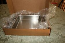 All Clad 8 x8 Square Baker Stainless Steel Bakeware NIB