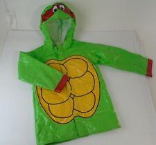 1990s Teenage Mutant Ninja Turtles Poncho Rain Coat Jacket Costume Raphael TMNT