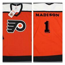 "Philadelphia Flyers Vintage CCM Maska Custom ""Madison"" NHL Jersey Large"