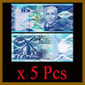 Barbados 2 Dollars x 5 Pcs, 2013 P-73 Unc