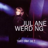 """JULIANE WERDING """"TAKT DER ZEIT"""" CD NEUWARE"""