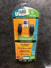 Belkin USB extension cable 10' A plug A receptacle Window/Mac P42361      -B14-