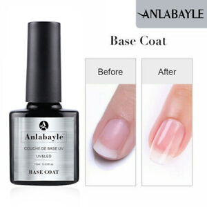 Anlabayle Glitter Gel Nail Polish Soak off UV LED Shiny Sparkle DIY Salon Polish
