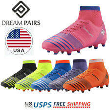DREAM PAIRS Kids Soccer Shoes Toddler Boys Girls Soccer Cleats Football Shoes