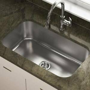Stainless Steel Household Sinks Home Deep Large Bowl Kitchen Catering Basin Sink