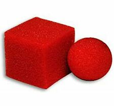THE GREAT SQUARE BALL MYSTERY ULTRA SOFT BY GOSHMAN MAGIC SPONGE TRICKS TOY CUBE