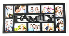 OPENBOX ARPAN Family Multi Aperture Photo Picture Frame - Holds 10 X 6x4 Photos
