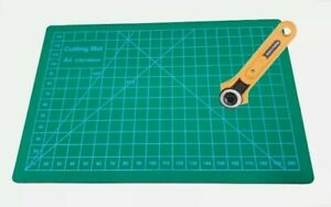 Rotary Cutter 28mm With Cutting Mat Sewing Shears Paper Craft Fast Free Delivery