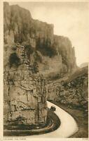 Cheddar. The Gorge postcard (Photochrom Co.Ltd. no. 51106) 1930s
