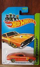 Hot Wheels 2014 HW WORKSHOP MUSCLE MANIA '73 FORD FALCON XB - ORANGE (A+/B)