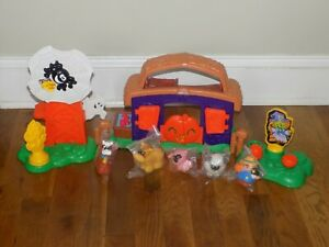 Fisher Price Little People Pumpkin Party