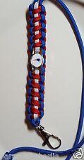 "New England Patriots 20"" Handmade Paracord Lanyard or Bracelet or Key Chain"