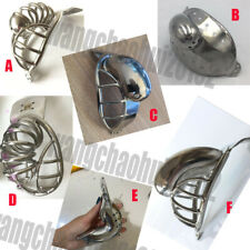 New Design Stainless Steel Emcc Chastity Belt Lock Accessories Breathable Cage