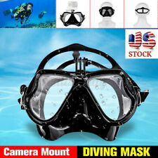 Swimming Scuba Diving Mask Protector Camera Mount For gopro Underwater